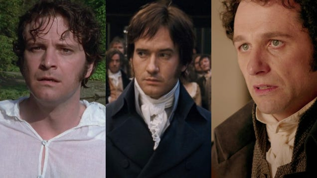 The Macfadyen/Firth Mr. Darcy debate is Matthew Rhys erasure, and it shall not stand