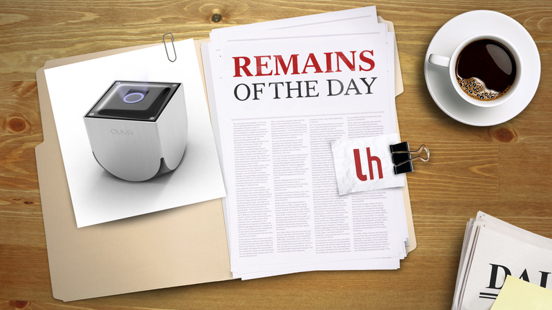 Illustration for article titled Remains of the Day: OUYA, The Affordable, Hacker-Friendly Game Console, Arrives This June