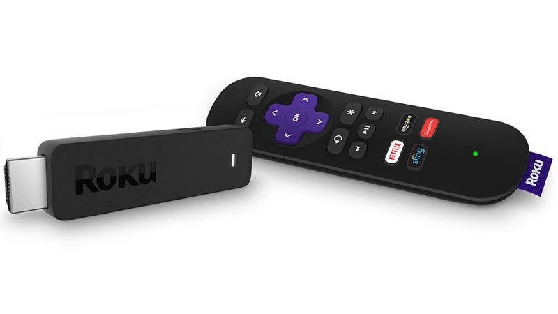 Illustration for article titled New Smaller Roku Stick Makes It Easier to Watch TV Without Annoying Your Roommates