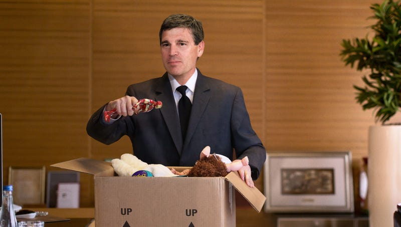 Illustration for article titled 'You Did The Best You Could,' Says Iron Man Action Figure Voiced By Despondent Toys 'R' Us CEO Packing Up Office