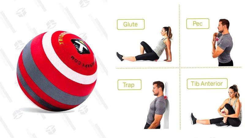 TriggerPoint Foam Massage Ball for Deep-Tissue Massage, extra firm  | $14 | Amazon TriggerPoint Foam Massage Ball for Deep-Tissue Massage, firm | $13 | Amazon
