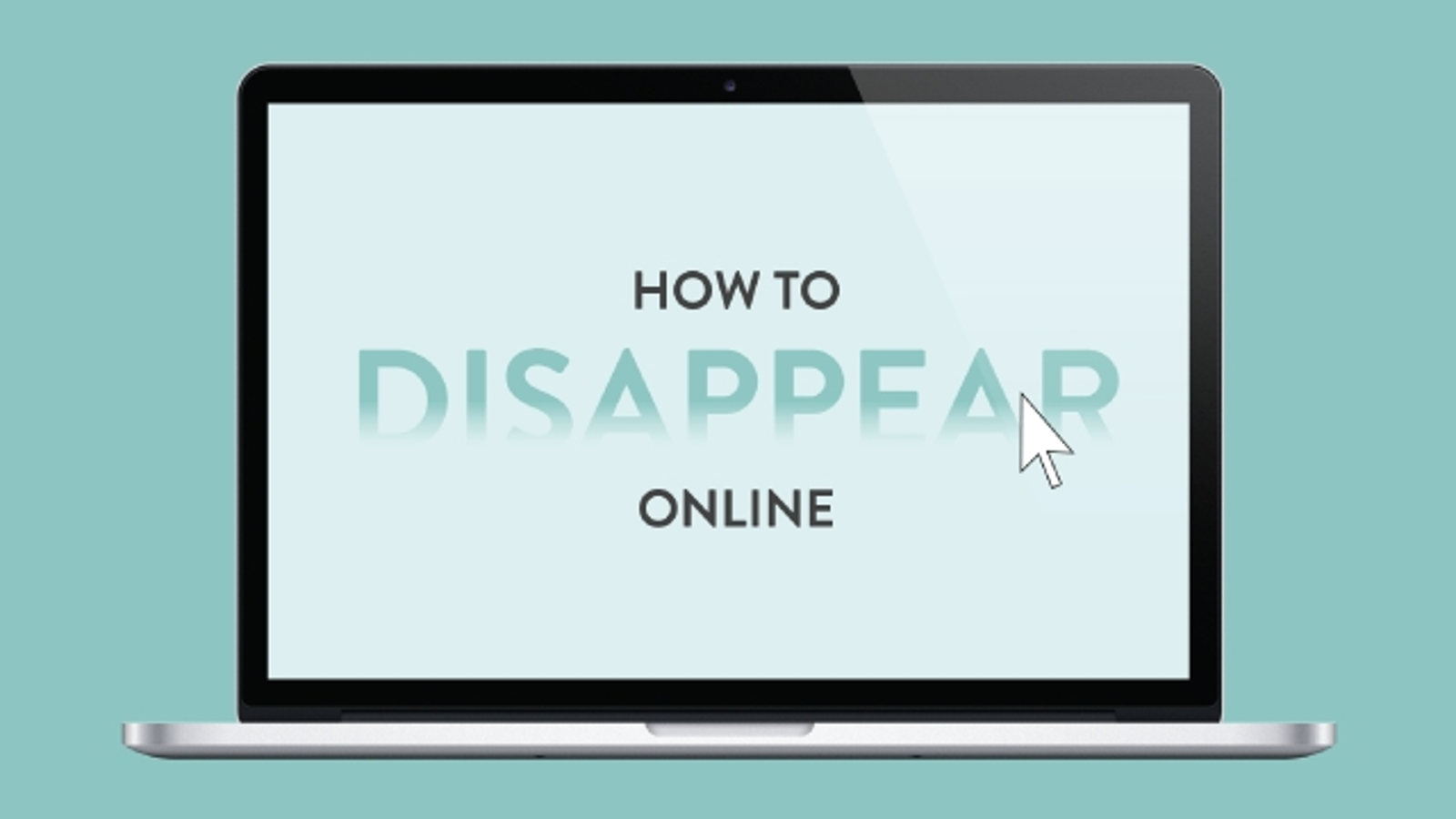 This Infographic Shows You How to Delete Yourself from the