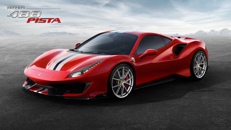 Illustration for article titled The Ferrari 488 Pista Is Your Extreme V8 Ferrari With 711 Horsepower: Reports (Updated)
