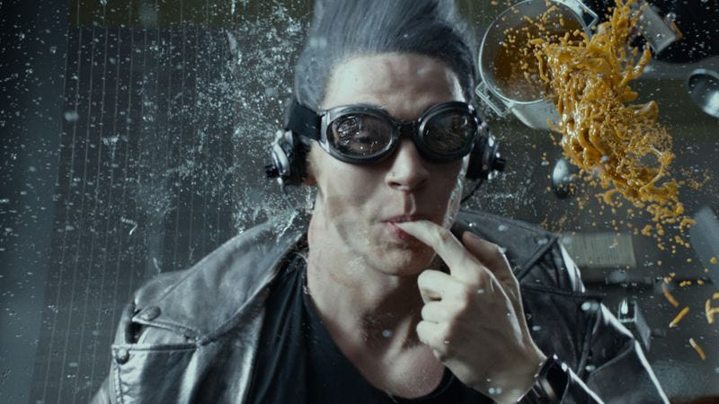Evan Peters as Quicksilver in X-Men: Apocalypse (2016)