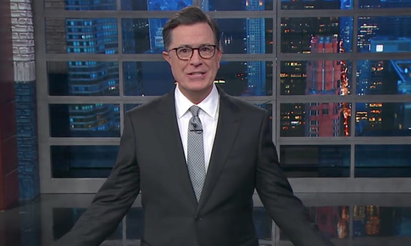 (Screenshot: The Late Show With Stephen Colbert)
