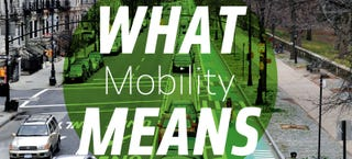 Illustration for article titled What People Actually Mean When They Talk About 'Mobility'