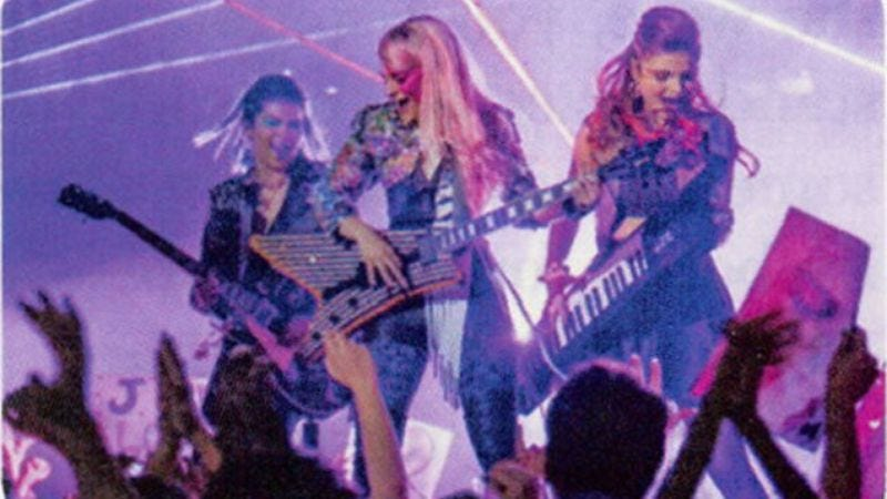 Illustration for article titled The first look at Jem And The Holograms exposes a gritty world of keytars