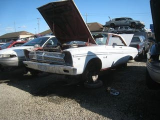 Illustration for article titled How Does This Happen? 1965 Belvedere Coupe Is Crusher-Bound