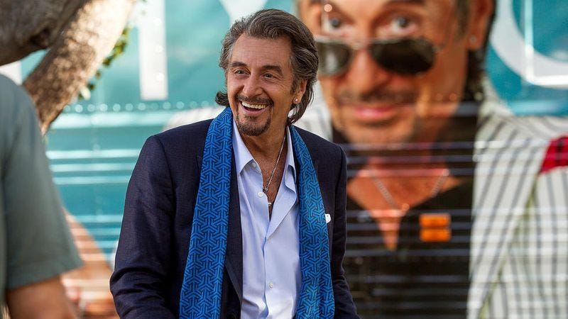 As the aging pop star of Danny Collins, Al Pacino is better than he's been in years