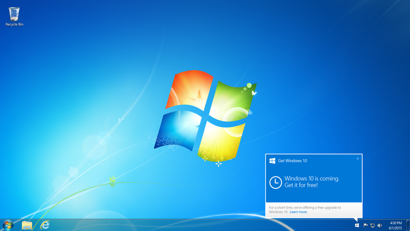 Illustration for article titled Windows 10 Will Be Out Next Month