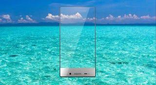 Illustration for article titled El marco del último smartphone Sharp es ridículamente fino