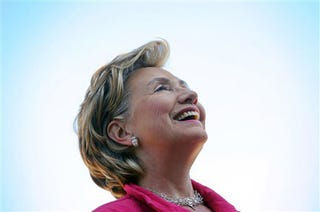 """Illustration for article titled Hillary Clinton Says """"No"""" To Supreme Court, """"Maybe"""" To Majority Leader"""