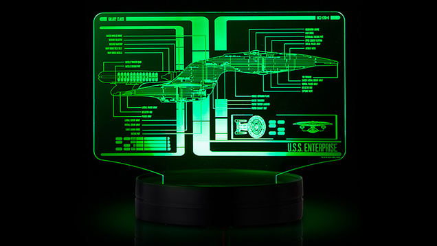 pretend you re a starfleet crewmember with your very own light up lcars display