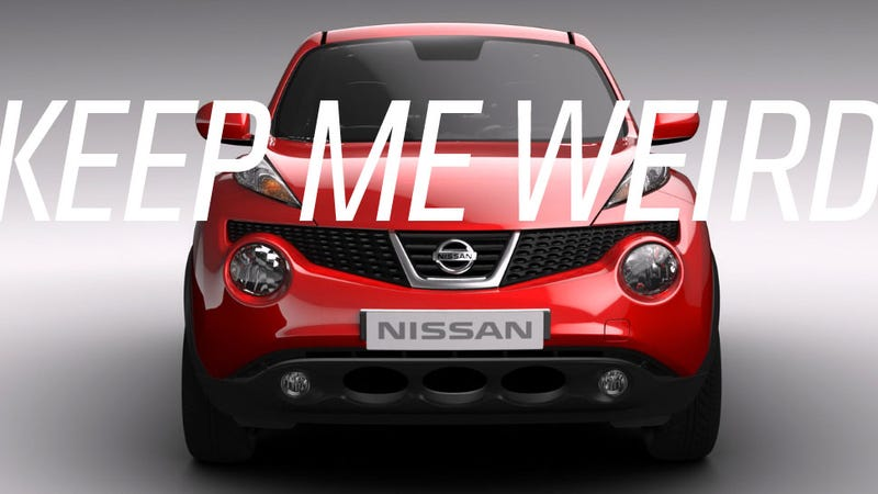Illustration for article titled My Plea To Nissan: Keep The Juke Weird