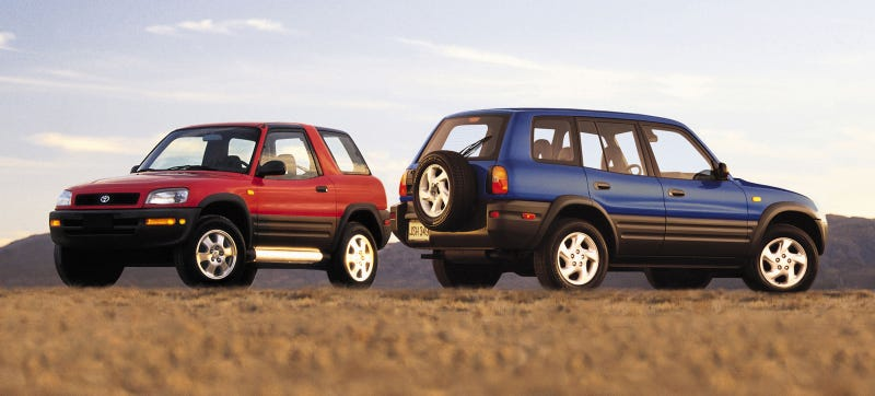 Illustration for article titled The Original Toyota RAV4 Was Better And More Important Than You Think