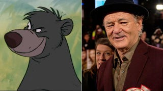 Illustration for article titled Bill Murray To Voice Baloo in Disney's Jungle Book