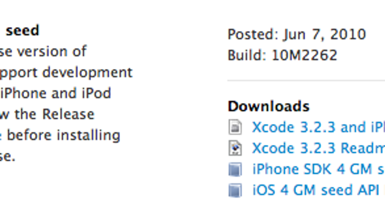 Apple iOS 4 0 Gold Master Now Available For Download