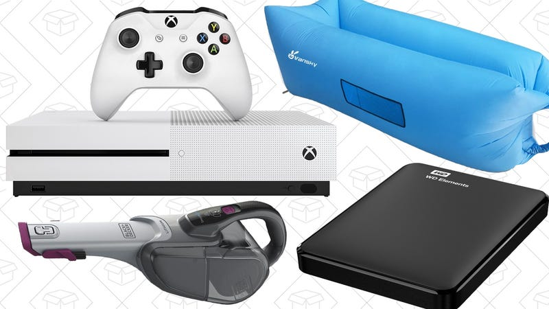 Illustration for article titled Today's Best Deals: Black & Decker Vacuums, Inflatable Lounger, Xbox Bundles, and More