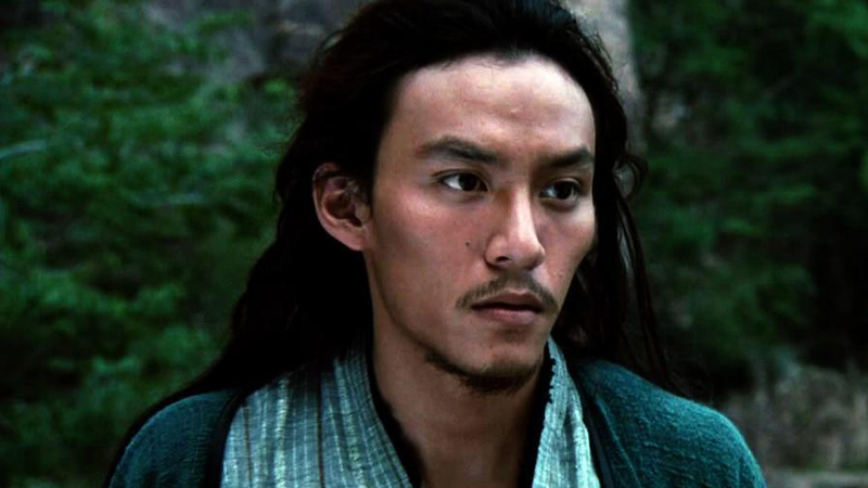Chang Chen in his most famous role, in the West at least.