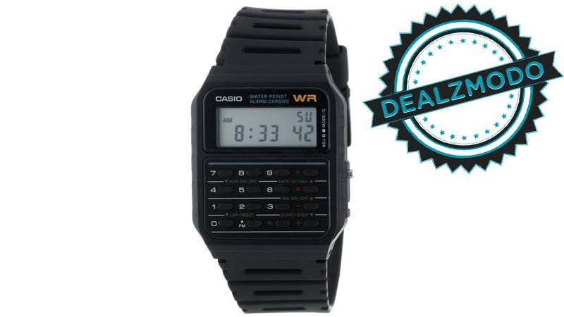 Illustration for article titled This So-Nerdy-It's-Cool Calculator Watch Is Your Deal of the Day