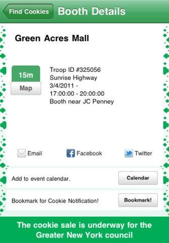 Illustration for article titled Cookie Finder App Gallery