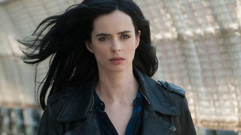 Krysten Ritter as Jessica Jones.