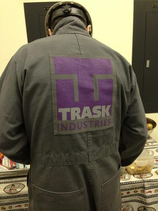 Illustration for article titled Trask industries has a neat logo.