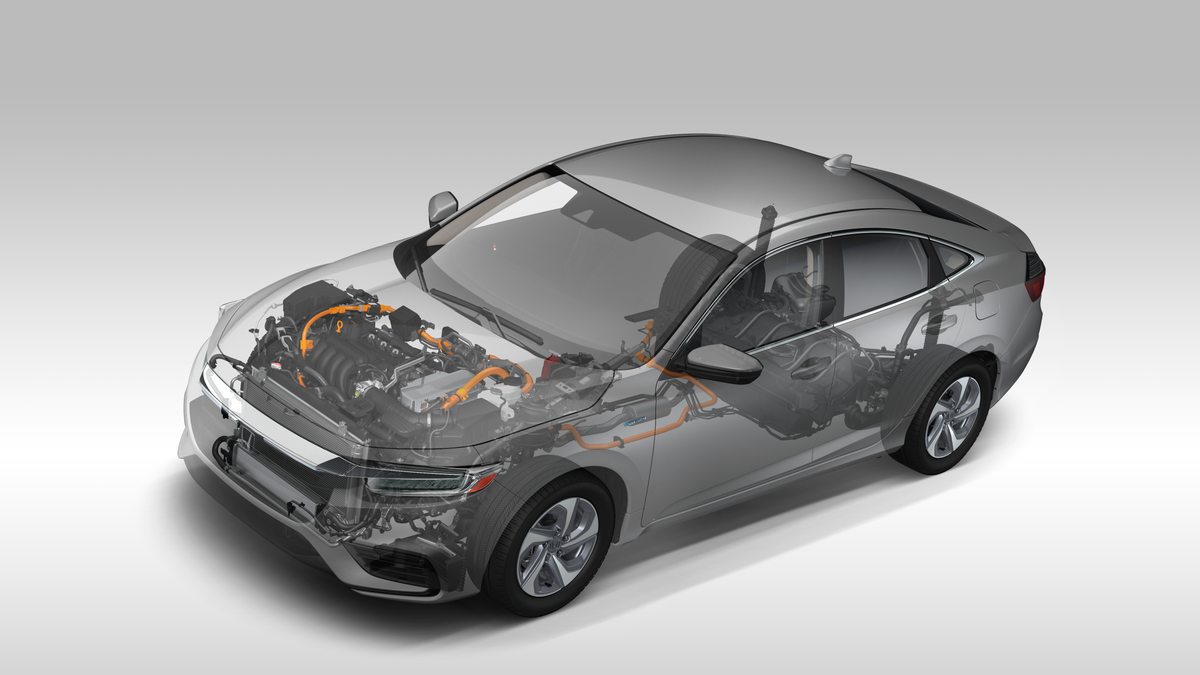 The 2019 Honda Insight Is Most Normal Hybrid Battery Diagram