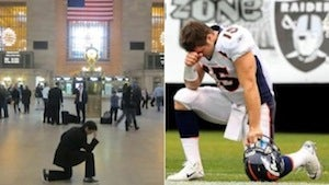 Illustration for article titled Tebowing Is The New Planking, Unfortunately
