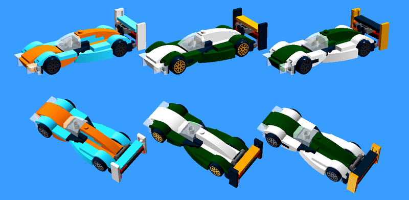 Aston-3 (Harris, Keller, Jameson; Gulf livery), Aston-47 (Wilkes, Walkinshaw, Letterman; British racing green with white middle and gold wing), and Aston-48 (Solheim, Viszetter, Granger; white with British racing green middle and gold endplates)