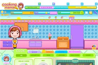 Illustration for article titled Cooking Mama Barges Into Café World's Kitchen