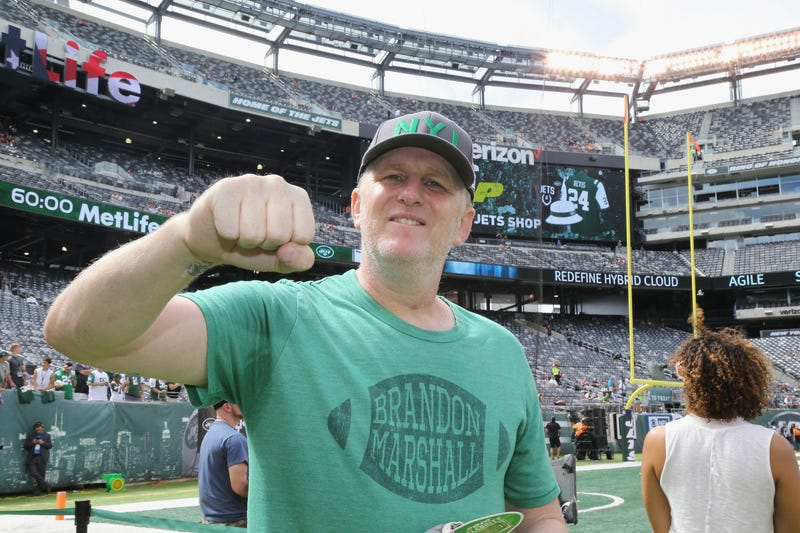 Actor Michael Rapaport attends the New York Jets-Cincinnati Bengals game at MetLife Stadium on Sept. 11, 2016, in East Rutherford, N.J.Al Pereira/Getty Images