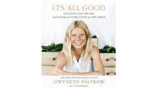 Illustration for article titled Gwyneth Paltrow Releasing New Ingredient-Free Cookbook