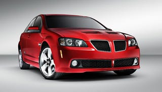 Illustration for article titled The Limited-Edition Aussie Pontiac G8 Is No Longer Limited