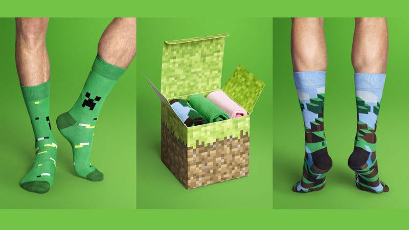 Illustration for article titled Minecraft Socks are Way Cooler Than You Think