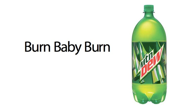 Illustration for article titled There's Flame Retardant in Mountain Dew