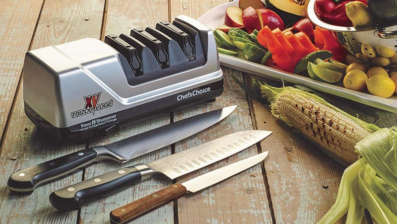 EdgeCraft Chef's Choice 15XV Knife Sharpener | $100 | Amazon