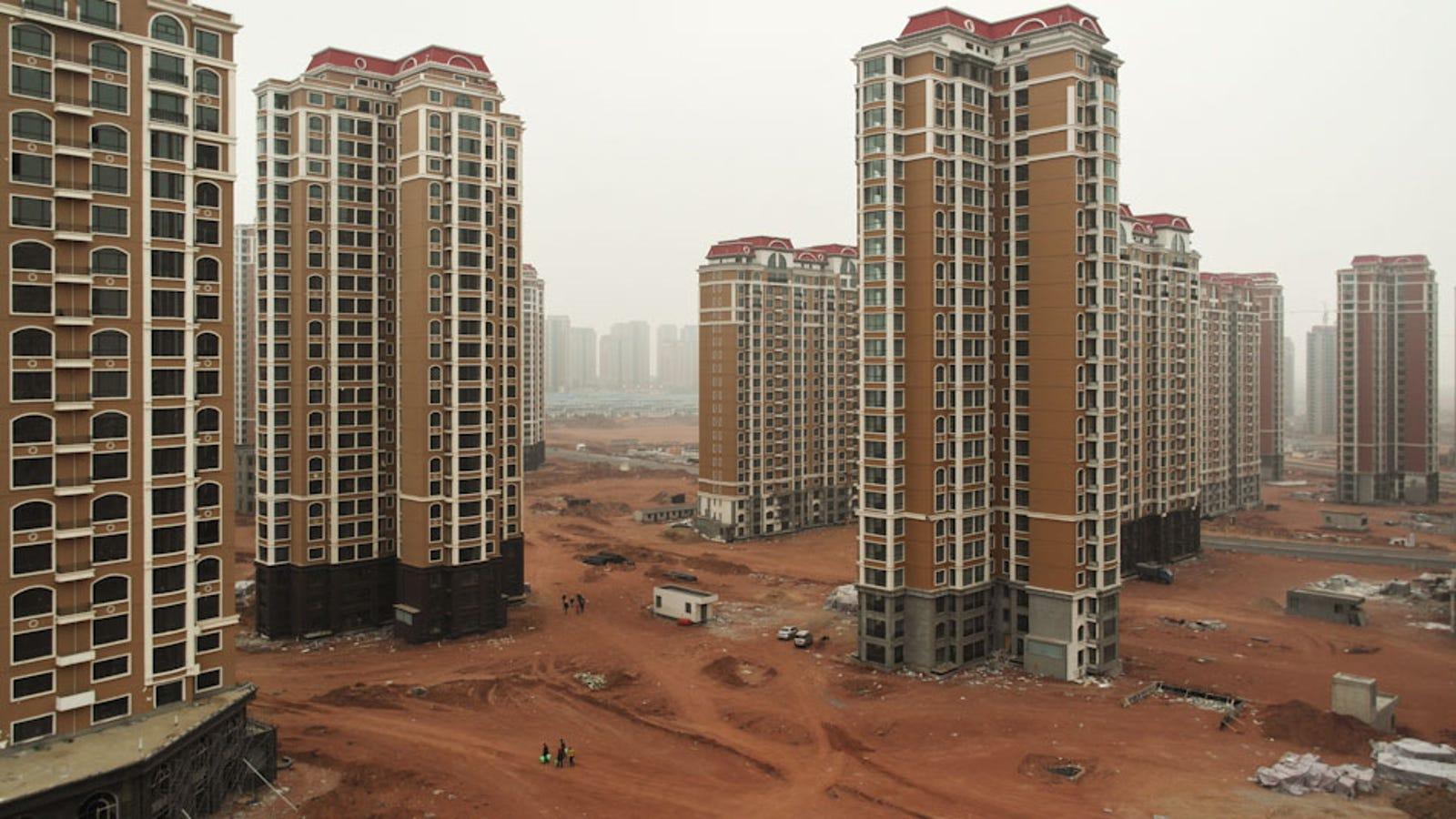 Las surrealistas (y preocupantes) ciudades fantasma de China