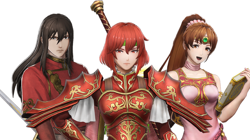 Navarre, Minerva and Linde, AKA team red.