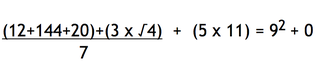 Illustration for article titled This Math Equation Is Also A Limerick