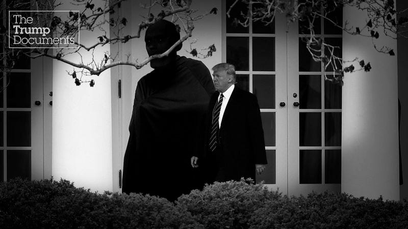 Illustration for article titled President Trump Has Enacted The 'Theseus Protocol': What Does That Mean For America?
