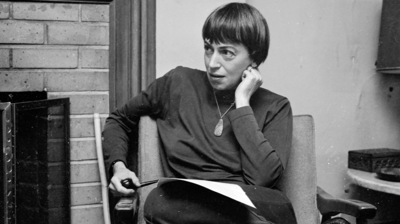 A photo of Ursula K. Le Guin from the upcoming documentary Worlds of Ursula K. Le Guin.