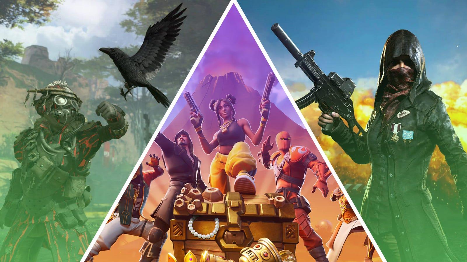 Fortnite, Apex Legends, Black Ops 4: The best of battle
