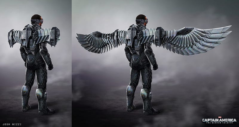 Illustration for article titled Falcon Could Have Been More Bird-Like In Captain America 2