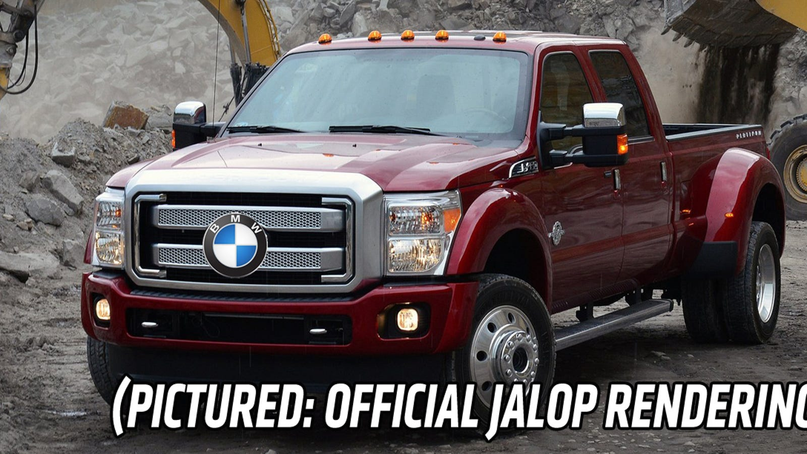 Bmw Pickup Truck >> A Bmw Pickup Truck Is Not Happening