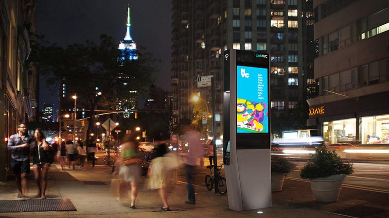 Illustration for article titled An Old-School Phone Phreak Has Been Making NYC Wifi Kiosks Play Creepy Music