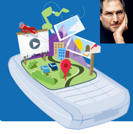 """Illustration for article titled Fake Steve Jobs on Android: """"It's Not a Phone, It's an Alliance"""""""