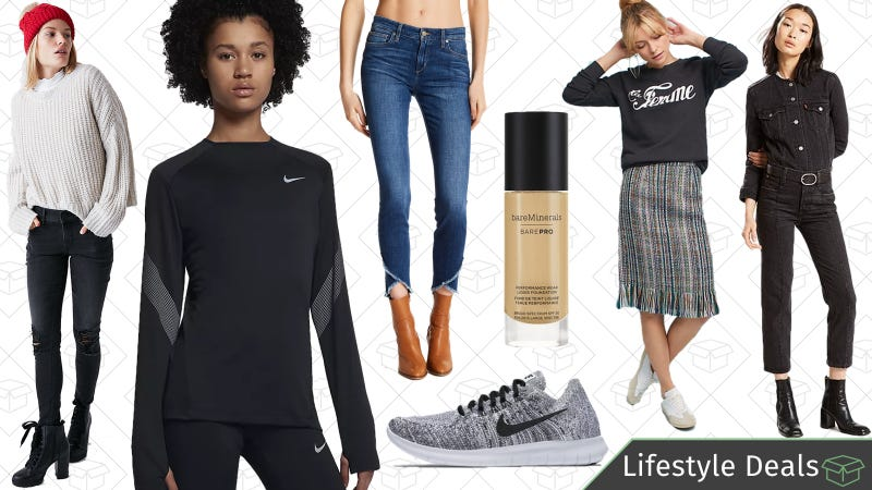 Illustration for article titled Monday's Best Lifestyle Deals: Nike, Levi's, Express, Anthropologie, and More