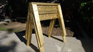 ​Build Stackable Sawhorses from Scrap Lumber in Under 10 Minutes