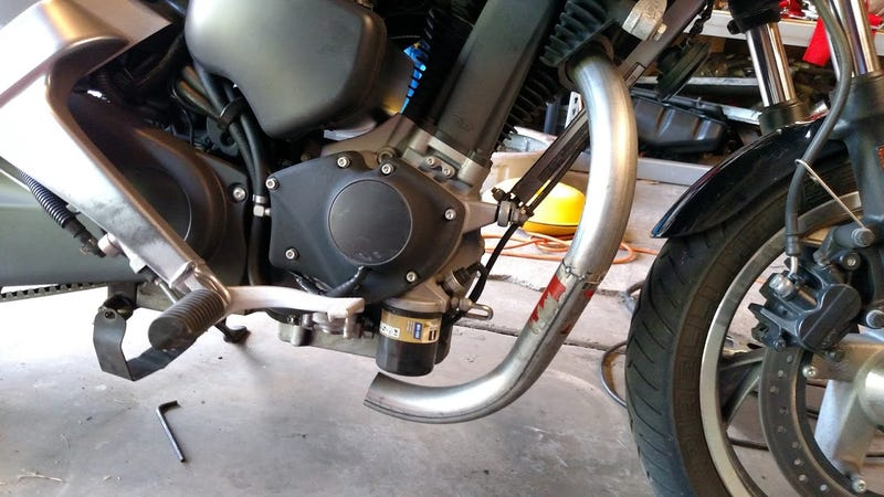 Low Budget Blast: Motorcycle Exhaust Fab!